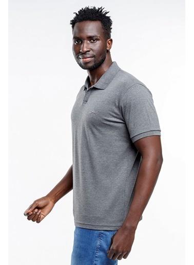 Slazenger Slazenger BASKET Erkek T-Shirt K. Antrasit